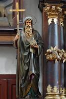 sculpture baroque de saint cyril