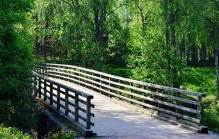 Pont de bois photo