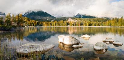 tatrzańskie jezioro, strbskie pleso