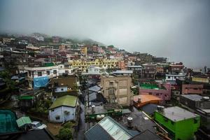 Village de montagne à jiufen taiwan