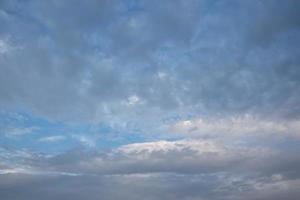 fond de ciel avec des nuages