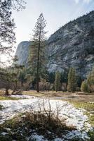 fond de la vallée de Yosemite pendant la journée