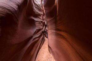 Photo en gros plan du canyon de la roche brune