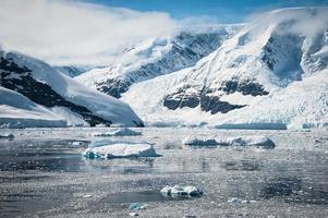 Paradise Bay en Antarctique photo