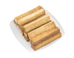 assiette de produits de boulangerie indiens