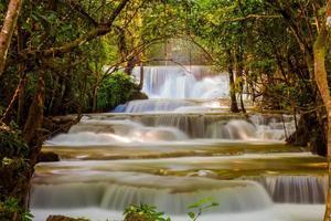 la cascade huai mae khamin photo