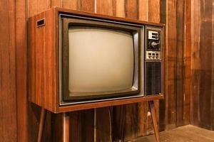 vieille télévision vintage photo