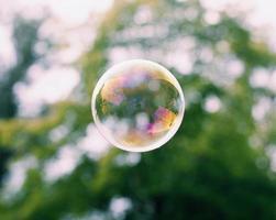 la vie dans une bulle