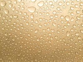 gros plan, de, pluie dorée