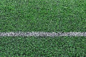 ligne de terrain de football en gazon artificiel