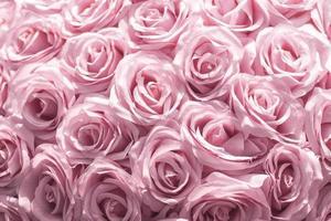 fleurs en tissu soft focus