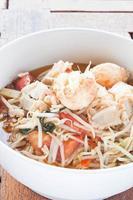 soupe de germes de soja et de tomates
