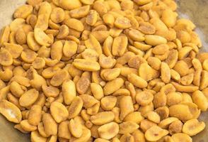gros plan, de, cacahuètes masala photo
