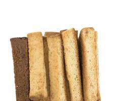 gros plan, de, pain grillé français