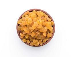 bol de raisins secs ou de cassis photo