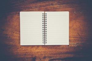 cahier blanc vierge avec espace copie
