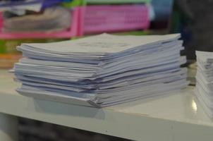 pile de documents