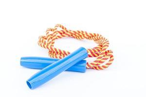 corde à sauter à rayures photo