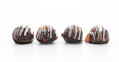 boule de gâteau au chocolat fantaisie photo