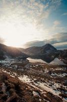 photo paysagée des montagnes