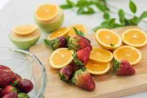une variété de fruits frais