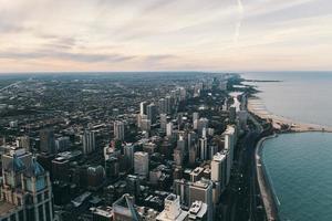 photographie aérienne de la ville de new york photo