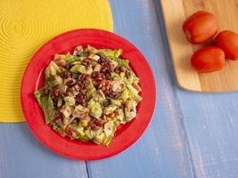 salade de poulet maison