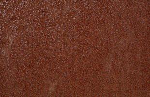 texture en acier oxydé rouge