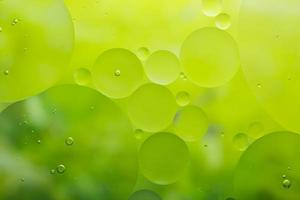eau et huile, fond abstrait