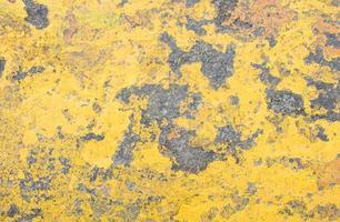 Texture grunge rouillée jaune photo