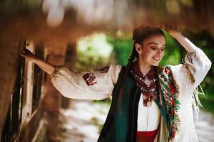 fille ukrainienne souriante photo