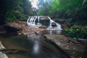 Paysage dans le parc national de la cascade de khao chamao