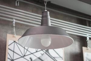 lumière moderne en métal photo