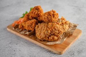 poulet frit croustillant photo