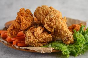 poulet frit croustillant