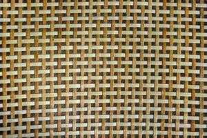 détail de motif de sac en osier photo