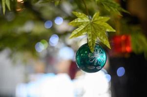 décoration d'arbre de Noël photo