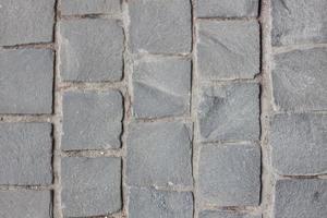 chaussée de brique en béton photo
