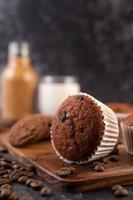 muffins aux bananes fraîches