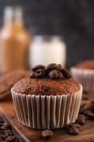 muffins aux bananes fraîches photo