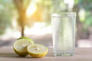 citrons et eau photo