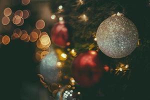 décorations d'arbre de Noël photo