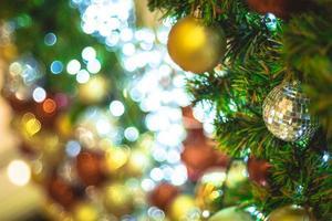 décor d'arbre de Noël photo
