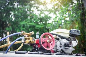 machine de pesticide à l'extérieur photo