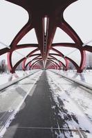 pont vide pendant la journée