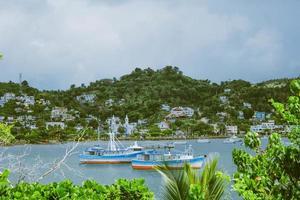 Saint-Domingue, République dominicaine, 2020 - bateaux sur l'eau photo