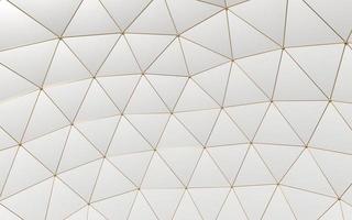 abstrait de polygones d'or modernes photo