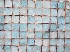 texture de tuile bleue photo