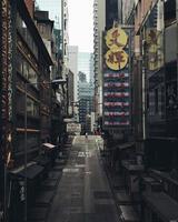 hong kong, hk, 2020 - rue à hong kong