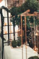 lumières décoratives et bougies